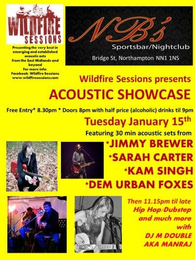 2013-01-15 NBS Northampton gig Sarah Carter