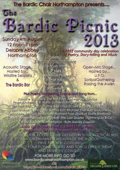 Bardic Picnic 2013 Poster